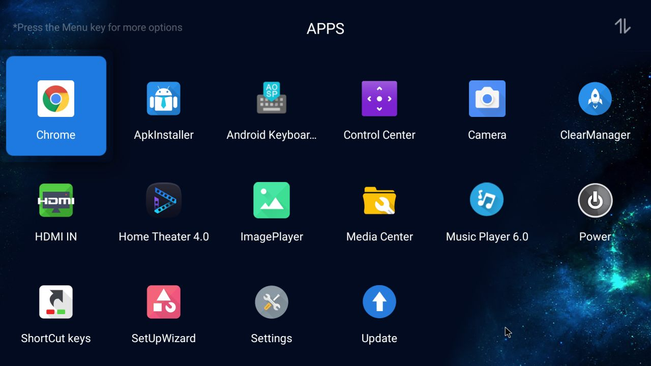 List of preinstalled apps